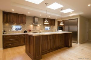 Beauty Of Natural Walnut Mtkc Mt Kitchen Cabinets Inc